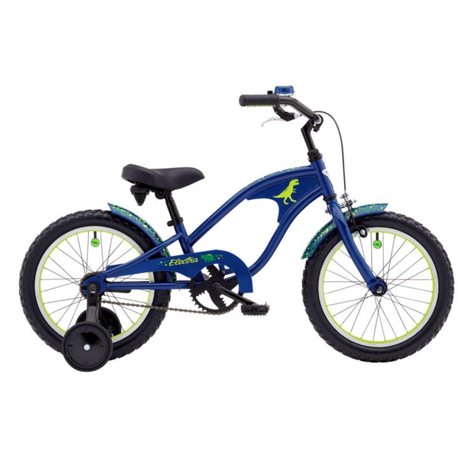 Electra 16 Zoll Kinder Fahrrad Stützräder Jungen T-Rex Kids Dinosaurier Dino WOW
