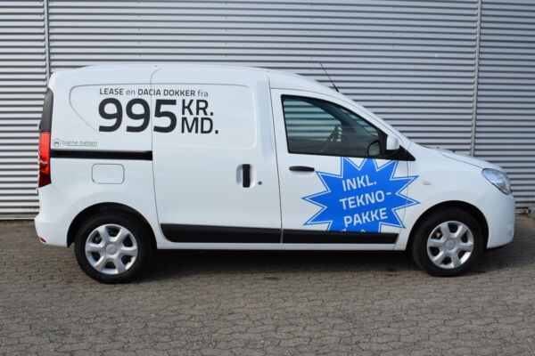 Dacia Dokker 1,5 dCi 90 Ambiance Van - billede 1