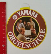 Aufkleber/Sticker: Yamaha - Orgelschule (15021747)