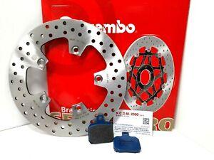 Disco Freno Brembo + Pastillas Traseros Ducati 999 R 2003 2004 2005 2006