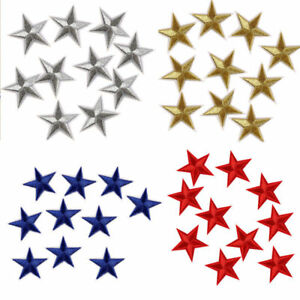 4-4cm-10Pcs-Star-Embroidery-Sew-Iron-On-Patchs-Badge-Clothes-Applique-Bag-Fabric