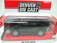 The Menards Black Hummer Denver Die Cast