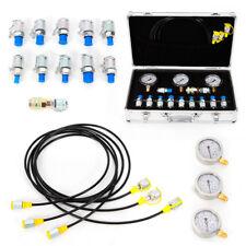 Hydraulic Pressure Test Kit 9000psi Hydraulic Pressure Tester For Machinery Usa