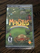 Brand New PixelJunk Monsters Deluxe Game (Sony PSP, 2010) Pixel Junk - Free Ship
