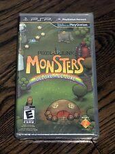 Brand New PixelJunk Monsters Deluxe Game (Sony PSP, 2010) Pixel Junk - Free Ship