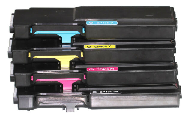 4 pcs generic toner for fuji xerox CP405D CM405DF CT202033 202034 202035 202036