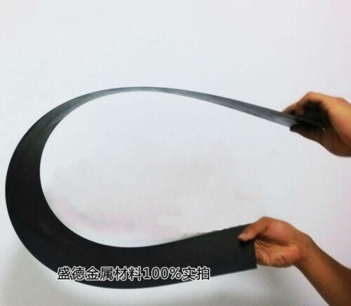2pcs 65Mn High Carbon Spring Steel Plate Strip 1.5mm x 30mm x 300mm #E4-E3 GY