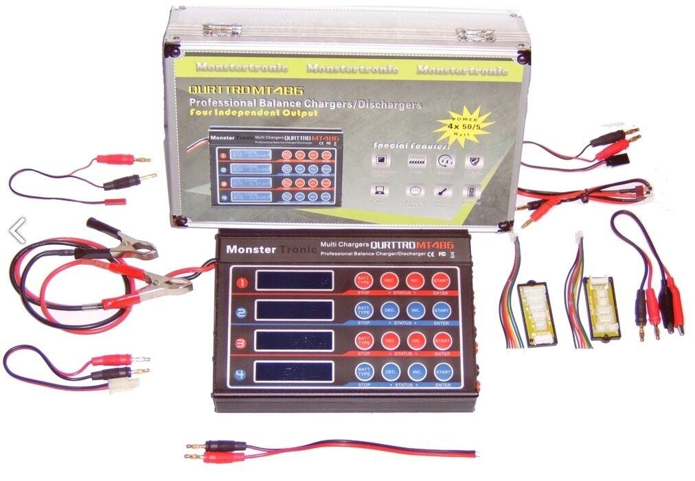 MT 4 B6 Duo 4 x 50 Watt Charger