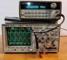 Hp Agilent Keysight 54645d Mso Oscilloscope 2 Ch Analog16 Ch Digital 100mhz