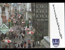 VILLENEUVE-sur-LOT (47) COMMERCES , Rue de Paris animée