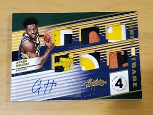 2018-Absolute-Aaron-Holiday-RC-Auto-True-RPA-6-Patch-Sick-SSP-1-5-Hot