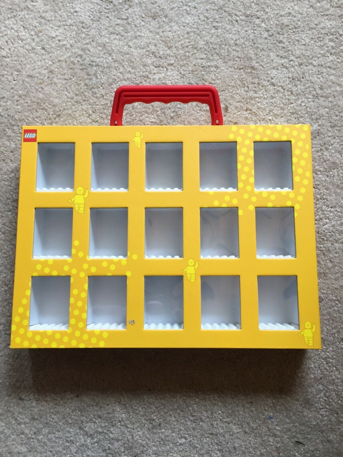 LEGO 116T1 Minifigure case. Hard to find. Excellent condition condition condition cf944f