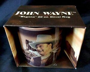 John-Wayne-Extra-Large-20-oz-Ceramic-Mug-034-Wagons-Forward-Yo-034-NIB-Vandor