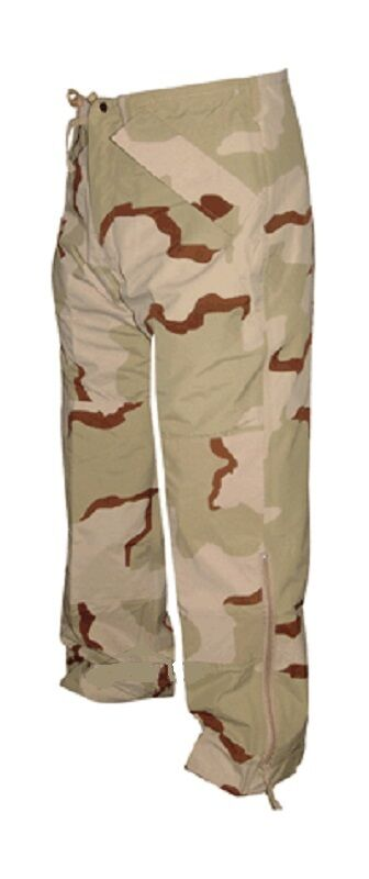 US Army 3 Farbe Desert DCU Goretex ECWCS Cold Weather pants Hose Small Regular