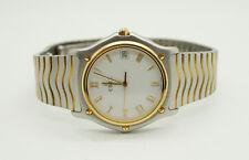 Ebel Classic Wave Herrenuhr 1187141 Edelstahl 18K Gold Quartz
