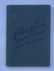 Jubilee-Record-of-Congregationalism-in-South-Australia-1887-Francis-William-Cox