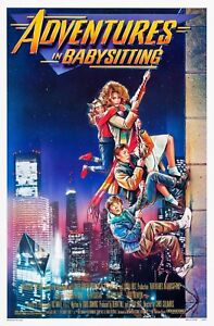 ce7488e36 Image is loading ADVENTURES-IN-BABYSITTING-1987-ORIGINAL -MOVIE-POSTER-ROLLED-