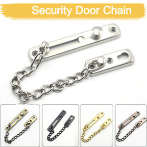 Strong-Security-Door-Chain-Screws-Solid-stainless-steel-Safety-Guard-Lock-Catch