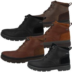 Details zu Clarks Rushway Mid Men GTX Herren Gore Tex Hiking Outdoor Freizeit Schuhe 26130