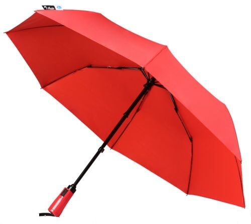 Pakiza Brand Umbrella 3 Fold Manual Open Plain Design for Rainy / Summer Season