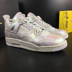 ae95cc1e512f NEW NIKE AIR JORDAN 4 RETRO PEARL GG 742639-045 LIGHT BONE CANNON ...