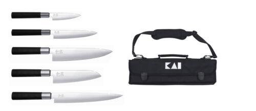 Kai Wasabi Black dm-0781-eu-67 Europe-Set Solingen Sac Set de couteaux Japon Koch