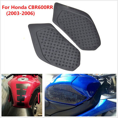 Pair Tank Traction Pad Side Fuel Gas Knee Grip Sticker For Honda