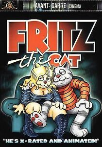 Fritz The Cat Dvd 01 Oop Rare R Crumb Bakshi Authentic W Insert