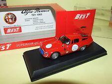 ALFA ROMEO TZ 1 TARGA FLORIO 1965 BEST 9062 1:43