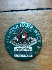 """1993 ALL-STAR GAME PIN CAMDEN YARDS VINTAGE RARE ALL NUMBERED TO 25,000  3"""" QTY"""