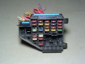 96 1996 buick skylark under dash fuse box fusebox pigtail wires ebay rh ebay com
