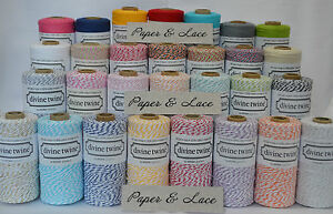Divine-Bakers-Twine-10m-DIY-Crafts-Wedding-Party-Choice-of-Colours-Original