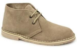 Roamers Macie Ladies Womens Suede Leather Ankle Summer Desert Boots