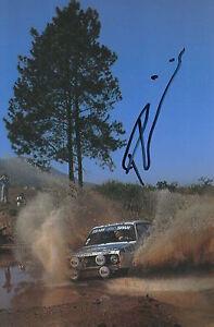 Pentti Airikkala Hand Signed 9x6 Photo Rally 2.