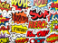 miniatuur 3 - 50 Comic Superhero Emote Stickers Decals For Skateboard Cars Laptop #BS
