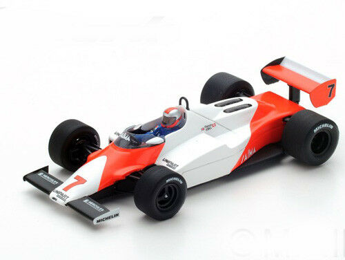 Spark Model 1 43 S4841 S4841 S4841 Mc Laren MP4 1c F.1 Ford  7 Winner Long Beach GP 1983 NEW e3e865