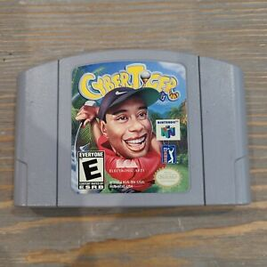 CyberTiger (Nintendo 64, 1999) N64 Cart Only Electronic Arts Golf Game EA Cyber