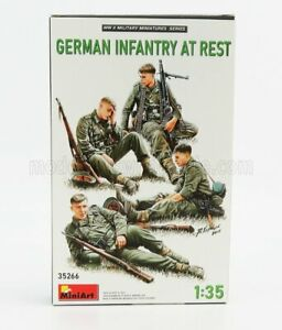 MINIART 1/35 FIGURES   SOLDATI - SOLDIERS MILITARY GERMAN INFANTRY AT REST   /