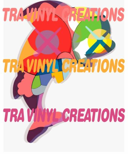 reproduction KAWS Permanent Vacation Poster Urban Street Pop Art