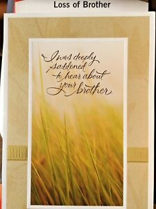 Hallmark sympathy cards for brother loss of brother sympathy 10 image is loading hallmark sympathy cards for brother loss of brother thecheapjerseys Gallery