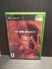 Dead or Alive 3 DOA Complete Original XBOX 1 Video Game System