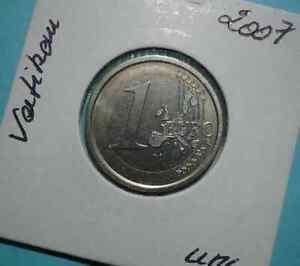 1 EURO 2007 VATICAN BENOIT XVI - ETATS DU VATICAN / ITALIE.