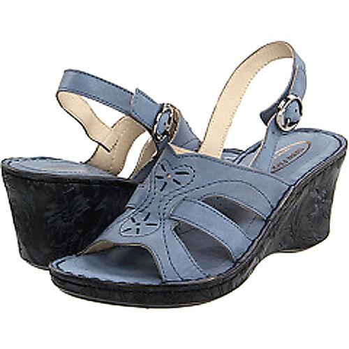 Nouveau Napa Flex Laguna femmes Sandales en cuir Taille 8 (fabricants Standard prix de détail  120) - bleu