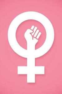 Girl Power Symbol w/ Circles Journal by redthreadgifts |Geek Power Girl Symbol