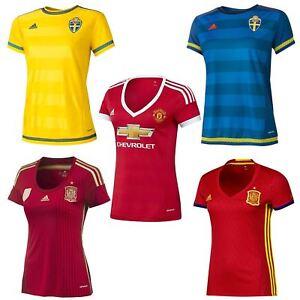 Adidas-Mujer-Camiseta-de-futbol-Espana-SWEDEN-Manchester-United-Man-Utd-0-22