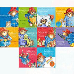 Paddington-Bear-10-Picture-Books-Children-Collection-Paperback-By-Michael-Bond