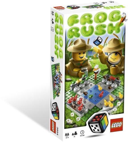 LEGO 3854 LEGO GAMES FROG RUSK GIOCO NUOVO CON SCATOLA SIGILLATA