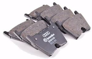GENUINE-Audi-RS4-Front-Brake-Pads-B8-2013-2016-8T0698151D