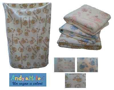 Coperta Baby, Bimbi, In Pile. Culla/lettino - Andy & Helen, 3/509. 110 X 140. Novel (In) Design;