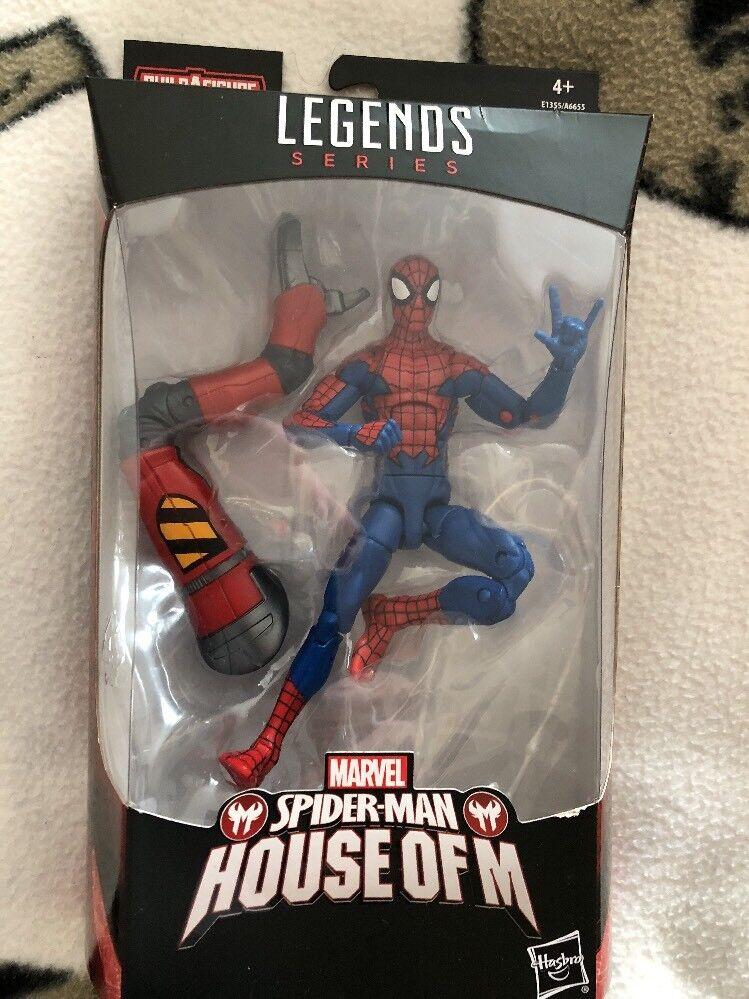 Marvel - legenden amazing spider - man  haus m legends series 6 inch abbildung